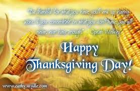 Happy Thanksgiving Quotes, Wishes and Thanksgiving Messages | Cathy via Relatably.com