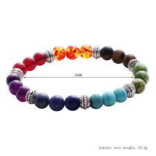 2019 Fashion <b>Lava</b> Rock Beaded <b>Simple</b> Frosted Women Bracelets ...