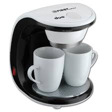 <b>Кофеварка FIRST FA 5453 2 White/black</b> (Капельная, вид кофе ...