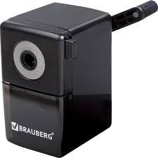 "<b>Точилка механическая BRAUBERG</b> ""<b>BlackJack</b>"", металлический ..."