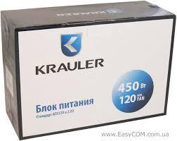 Обзор и тестирование <b>блока питания</b> KRAULER <b>450W</b> RTL ...