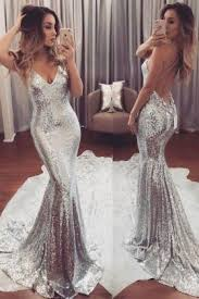 <b>Silver Prom Dresses</b> | Silver Prom Party Gowns - VQ