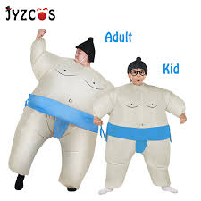 JYZCOS <b>Inflatable Sumo Costume</b> Halloween <b>Costume</b> for Adult Kid ...
