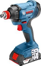 <b>Bosch GDX 180-Li</b> Cordless Impact Wrench / Impact Driver (2in1 ...