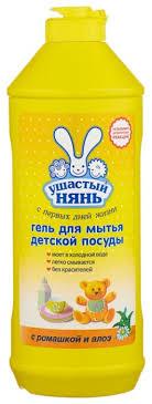 Ушастый Нянь <b>Гель для мытья</b> детской <b>посуды</b> — купить по ...