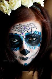 sugar skull makeup tutorial for special day of the dead in mexico