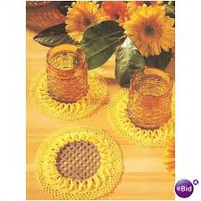 Image result for cd crochet coasters