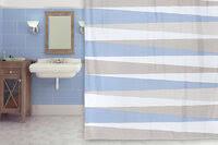 «<b>Занавеска</b> (<b>штора) для ванной</b> комнаты тканевая 220х200 см ...