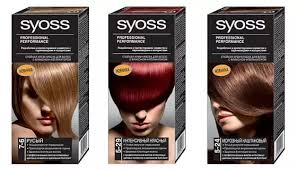 Syoss <b>Краска для волос Syoss Color</b> Professional Performance (36 ...
