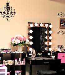adorable bedroom vanity mirror with lights for advanced dressing spot good looking chandelier wall decal bathroom lighting ideas dress mirror
