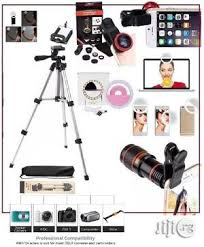 Camera Stand 3110 With <b>Selfie Light</b>, Mobile Telescope And ...