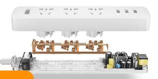 <b>Сетевой фильтр, удлинитель Xiaomi Mi</b> Power Strip 1.8 м. Модель