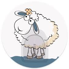 "<b>Крючок адгезивный Tatkraft</b> ""<b>Funny</b> sheep. Linda"", диаметр 8 см ..."