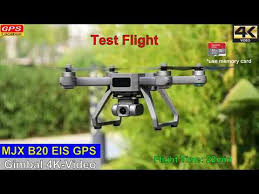 <b>MJX B20 EIS</b> GPS 4K-Video Drone – Test Flight 4K-Video - YouTube