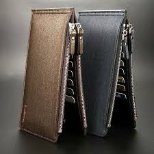 Clothing, Shoes & Accessories Men's <b>PU Leather Wallet</b> Pocket ID ...