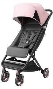 Прогулочная <b>коляска Xiaomi MITU</b> Baby Folding Stroller (Розовая ...