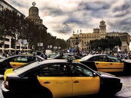 Resultado de imagen de taxis de barcelona