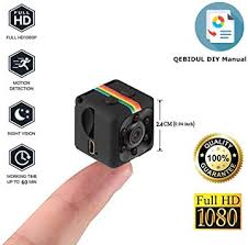 QEBIDUL Cop Mini Camera Spy Hidden 1080P Full ... - Amazon.com