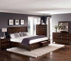 amazing white wood furniture sets modern design: storage platform bedroom sets modern bedroom design with dark brown wooden bed frame designed with under