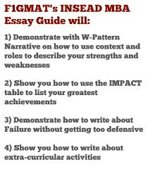 insead essay  give a candid description of yourself who are you  insead mba essay
