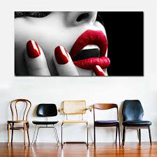 <b>SELFLESSLY</b> Wall <b>Art Posters</b> and <b>Prints</b> Sexy Women Red Lips ...