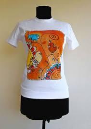 Фото отчёт. Ручная роспись одежды акриловыми красками для ...