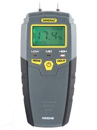 General Tools MMD4E <b>Digital</b> Moisture Meter, <b>Water</b> Leak Detector ...