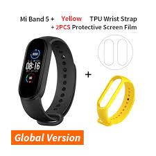 Mi Band 5 <b>Smart Bracelet</b> 4 Color AMOLED Screen Miband 5 ...
