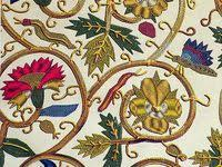 Elizabethan embroidery,Brazilian-Dimensional embroidery.: лучшие ...