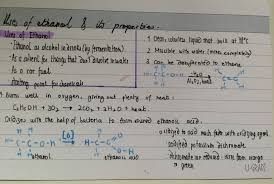 organic chemistry igcse revision
