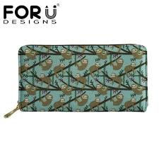 <b>FORUDESIGNS Women Long Wallets</b> Coin Purses Female Function ...