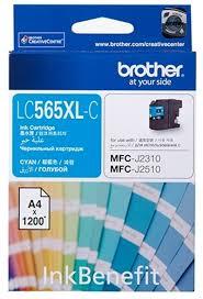 <b>Картридж Brother LC565XLC</b>, голубой, для струйного принтера ...