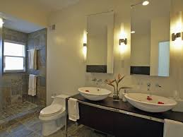 bathroom color wall ideas cream brown colors mosaic pattern wall bathroom designs for teenage girls big wall mirror recessed cei beautiful glass crystal beautiful bathroom vanity lighting design ideas