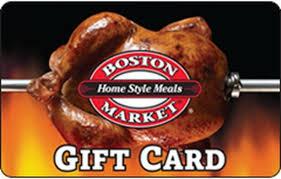 Boston Market Gift Card   Kroger Gift Cards
