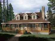 Country House Plans and Wrap Around Porch House Plans    Wrap Around Porch House Plan