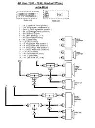 car audio wiring diagrams car wiring diagrams 4th gen basehu97 diagram