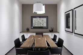 black walnut meetingdining table from cherrywood studio contemporary home office black contemporary home office