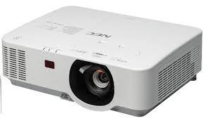 <b>NEC P554W</b> - Projector Reviews
