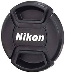 Nikon LC-52 52MM SNAP-ON <b>FRONT</b> LENS CAP-Black: Amazon ...