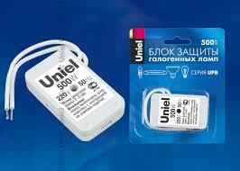 Купить <b>Блок защиты</b> UPB-500W-SL <b>Uniel</b> в интернет магазине ...