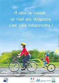 """Résultat de recherche d'images pour """"casque obligatoire vélo"""""""