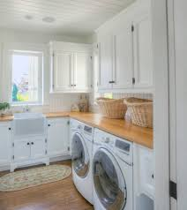 clothes hanger rack laundry room traditional with airy beach beach cottage beach house beachy bead board bright modern laundry room