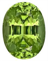 Well Saturated, <b>Gorgeous</b> Bright <b>Green Peridot</b> Natural GEM, Oval ...