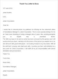 employee thank you letter template 20 word pdf documents employee thank you letter template to boss