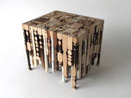 furniture recycled materials living