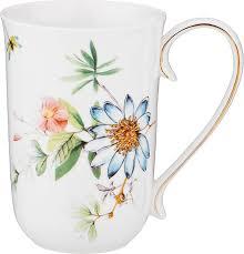 <b>Кружка</b> столовая <b>Lefard</b> Полевые цветы, 85-1477, мультиколор ...
