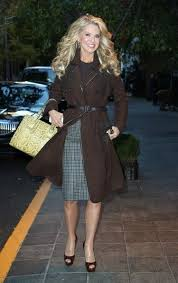 Christie Brinkley Fashion and Style - Christie Brinkley Dress ...