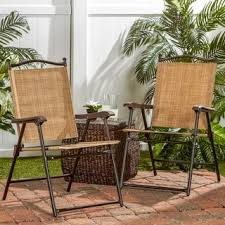 brown wicker outdoor furniture dresses: folding uv resistant outdoor chairs set of