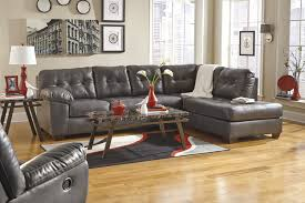 f awesome apartment living room interior decoration with modern black tufted bonded leather italian sectional sofa using brown wooden wedge feet and awesome italian sofas