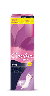 Ежедневные салфетки <b>Carefree</b> ® <b>plus Long</b>